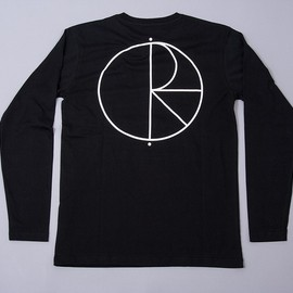 POLAR SKATE CO. - Polar Stroke Logo Skate Long Sleeve T-Shirt