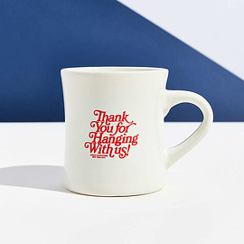 Urban Outfitters - UO Souvenir Thank You NY Diner Mug