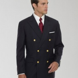 Brooks Brothers - Double Breasted Navy Blazer