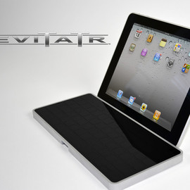 A keyboard with elevating keys for iPad, Tablets