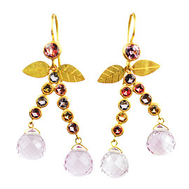 marie helene de taillac - cherries earrings
