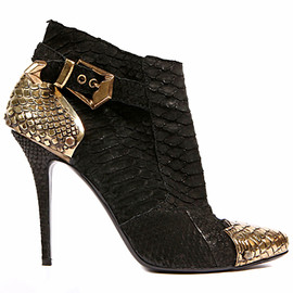Balmain - Python Bootie With Metal Details
