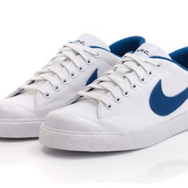 A.P.C., Nike Sportswear - All Court shoe White/Blue