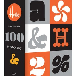 House Industries - 100 Postcards
