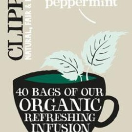 Clipper - Organic Infusion Peppermint 40 Tea bags