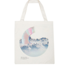OPENING CEREMONY - MADE EXCLUSIVELY FOR OPENING CEREMONY BY YOSHIROTTEN / tote bag white