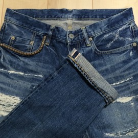 HYSTERIC GLAMOUR - VSR DENIM PANTS