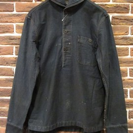 RRL - Denim Pullover Jacket