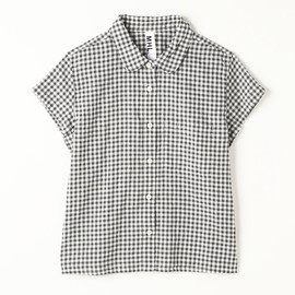 MARGARET HOWELL - ROUGH GINGHAM CHECK