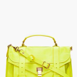 PROENZA SCHOULER - PS1 Medium Lime Satchel