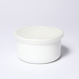 MARGARET HOWELL, NODA HORO - ROUND STORAGE SS WHITE