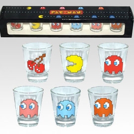 Namco - PAC-MAN COLLECTORS' SHOT GLASS SET