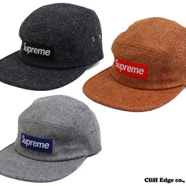 Supreme - Herringbone Donegal Camp Cap