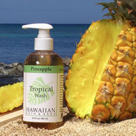 Hawaiian Bath & Body - Hawaiian Pineapple Tropical Wash  $12.95