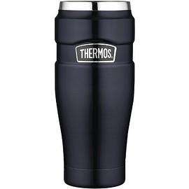 Thermos - Thermos Stainless King 16-Ounce Leak-Proof Travel Mug【並行輸入品】
