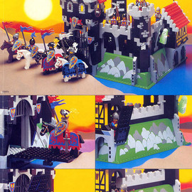 LEGO - 6086 Black Knight's Castle