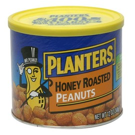 PLANTERS - HONEY ROASTED PEANUTS