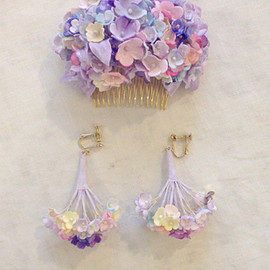 YUKI FUJISAWA - forget-me-not/earrings limited color [DAYDREAM]