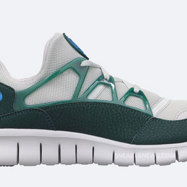 Nike - Free Huarache Light - Neutral Grey/Photo Blue/Dark Atomic Teal