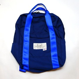 2WAYHANDLESBACKPACKCOL:BEIDGE-BLUE【KACIMOUNTAINEERINGEQUIPMENTS】【2012年春夏新作】