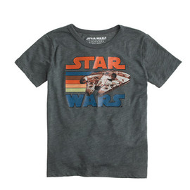 J.CREW - STAR WARS FOR CREWCUTS MILLENNIUM FALCON TEE