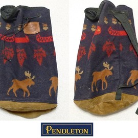 PENDLETON - one shoulder wool bag