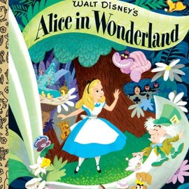 Little Golden Book - Walt Disney's Alice in Wonderland