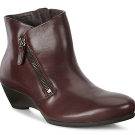 ECCO - SCULPTURED Wedge Ankle Boot with INFINIUM