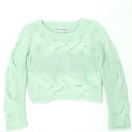 made in HEAVEN - loos&cropped knit