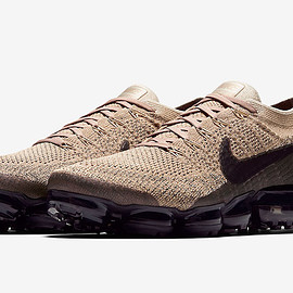 NIKE - Air VaporMax - Tan/Dark Brown