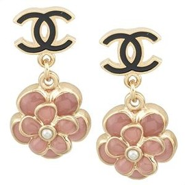Chanel - Camellia Earrings