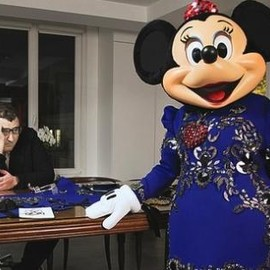 Lanvin - Minnie Mouse to Wear Custom Lanvin to Disneyland Paris Fête