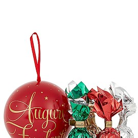 Venchi - Chocolate-Filled Tin Christmas Bauble 49g