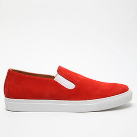 COMME DES GARCONS SHIRT -  MEN'S SLIP ON SHOE / orange
