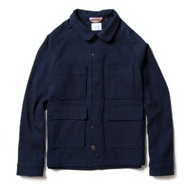 Apolis - Indigo Wool Chore Jacket