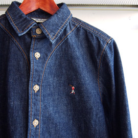 JACKMAN - Denim Baseball Shirt