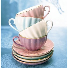 bombay duck - belle teacup and saucer