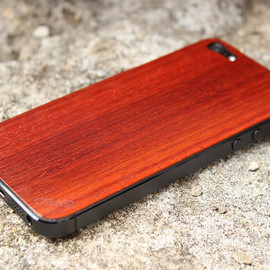Etsy - Padauk iPhone 5 Real Wood Skin (Front & Back Cover) Made in the USA - FREE Shipping