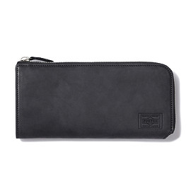 "HEAD PORTER - ""ORCIA"" WALLET (L) BLACK"