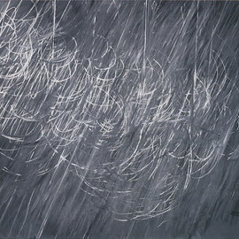 Cy Twombly - Untitled (1968/1971, 199x248.2, distemper and chalk on canvas)