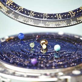 Van Cleef & Arpels - the Van Cleef & Arpels Midnight Planétarium Poetic Complication, the solar system on your wrist