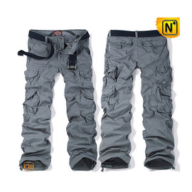 CWMALLS - Cargo Pants for Men with Belt CW100012