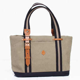 CLEDRAN - CEIN WIDE TOTE トートバッグ 4色