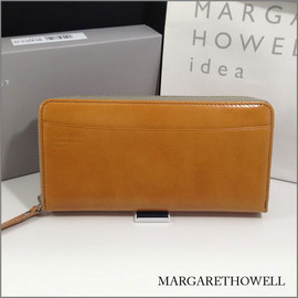 MARGARET HOWELL idea - wallet,camel