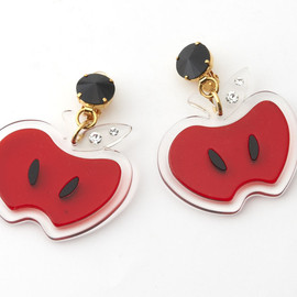 miu miu - Apple Motif Earing