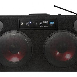 ION Audio - Road Warrior - Bluetooth Boombox