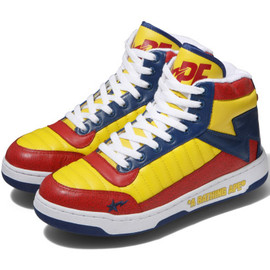 A BATHING APE - BAPESTA88 Yellow × Red