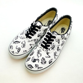 VANS - VANS×ROLLICKINGコラボスニーカー/ERA RK ANIMALS MONO