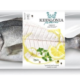 Kefalonia fisheries - Sea food packaging.