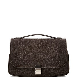 PROENZA SCHOULER - FW2015 Felt And Buffalo Kent Shoulder Bag